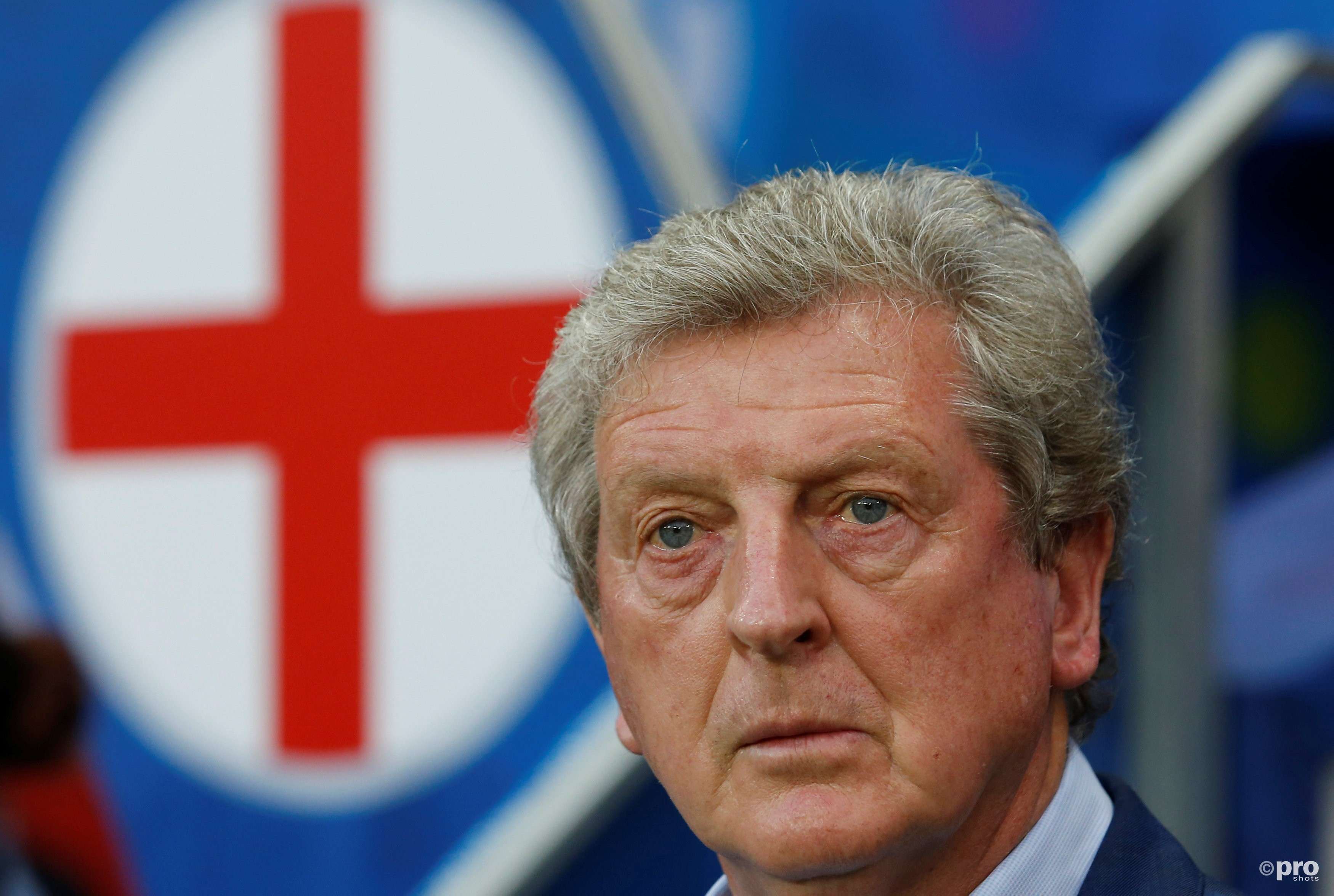 Roy Hodgson is niet langer de manager van Engeland. (PRO SHOTS/Action Images)