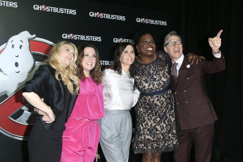 Designers niet in rij voor Ghostbusters-ster