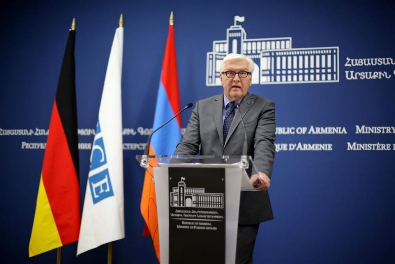 Duitse minister bezoekt gedenkteken Armenië