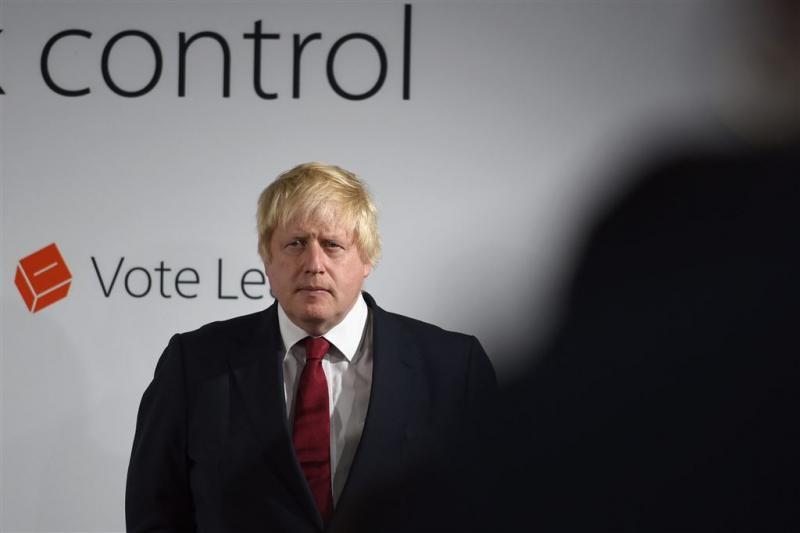 Johnson geen kandidaat Brits premierschap