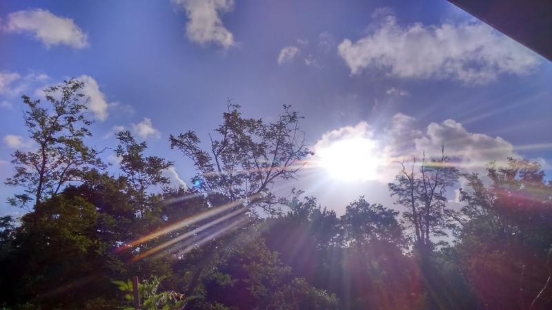 Niks triest, stralende zonsopgang (Foto: DJMO)