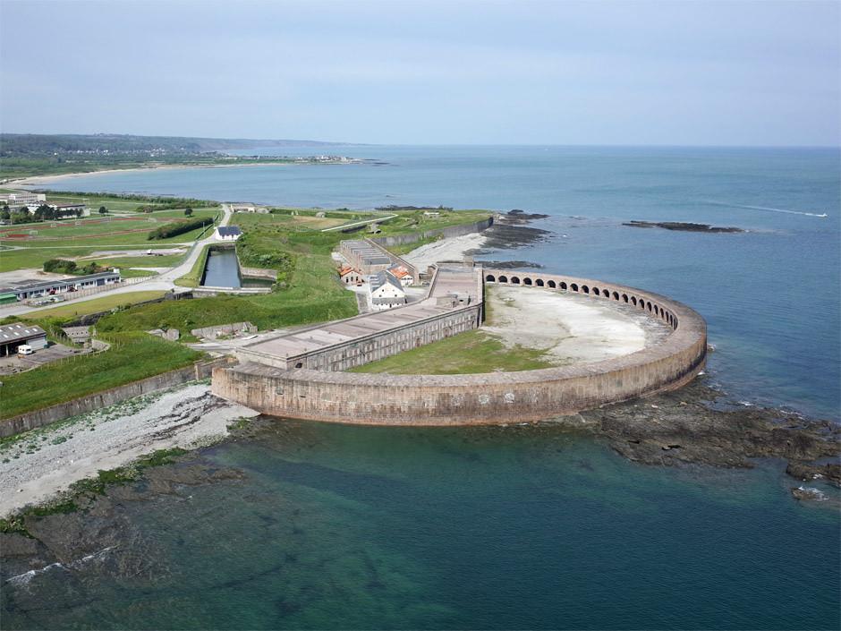 Het fort bij Querqueville (Foto: Flickr)