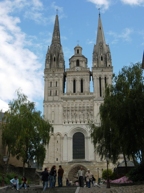 Natuurlijk heeft ook Angers weer wat moois te bieden (Foto: WikiCommons)