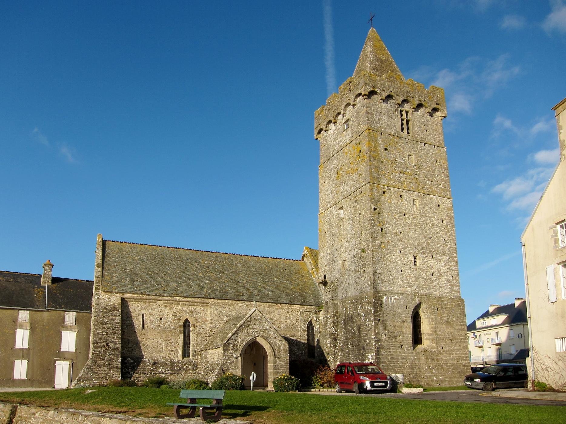 Schitterend kerkje in Portbail (Foto: WikiCommons)