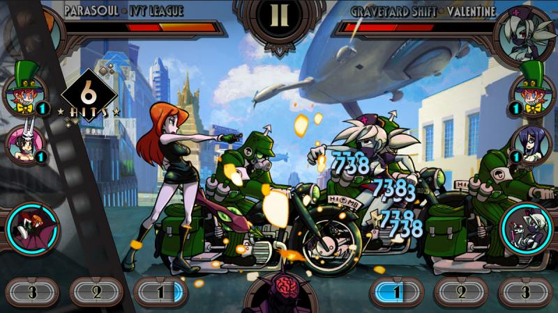 Skullgirls RPG - Parasoul