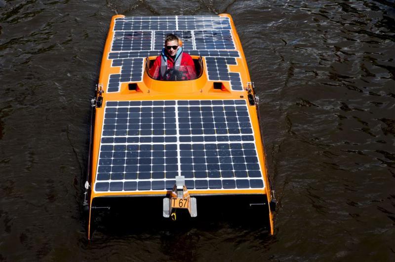 Solar Challenge toont toekomstbeeld grachten