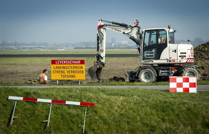 Polderbaan Schiphol dicht voor onderhoud