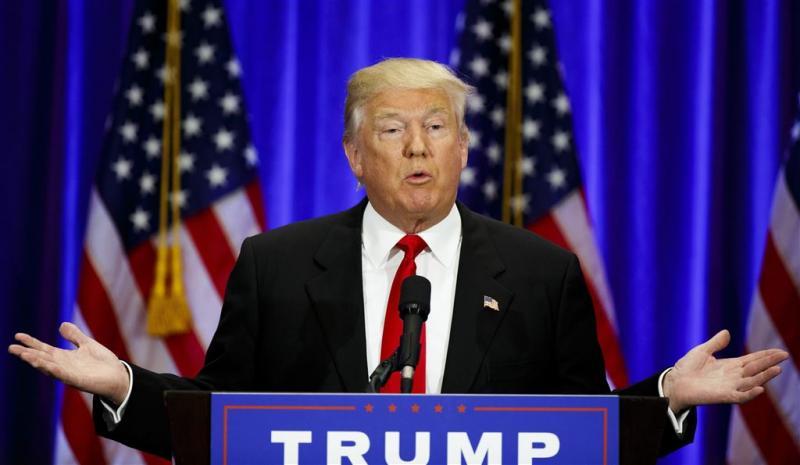 Trump looft Saddam