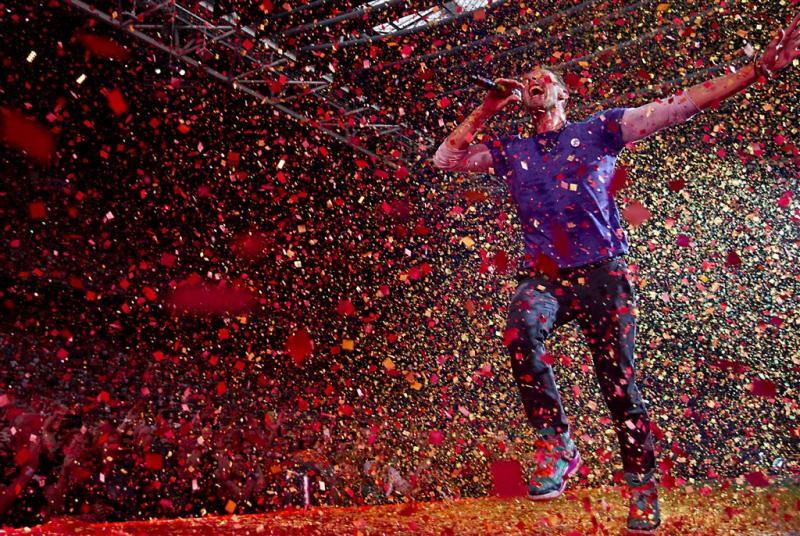 Album Coldplay blijft populair na concerten