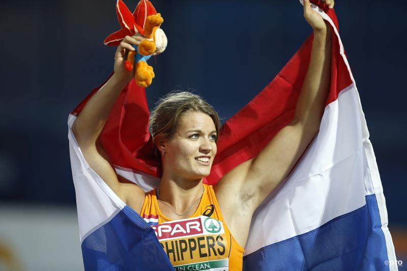 Dafne Schippers pakt met overmacht goud op 100 meter (Pro Shots/Henk Jan Dijks)