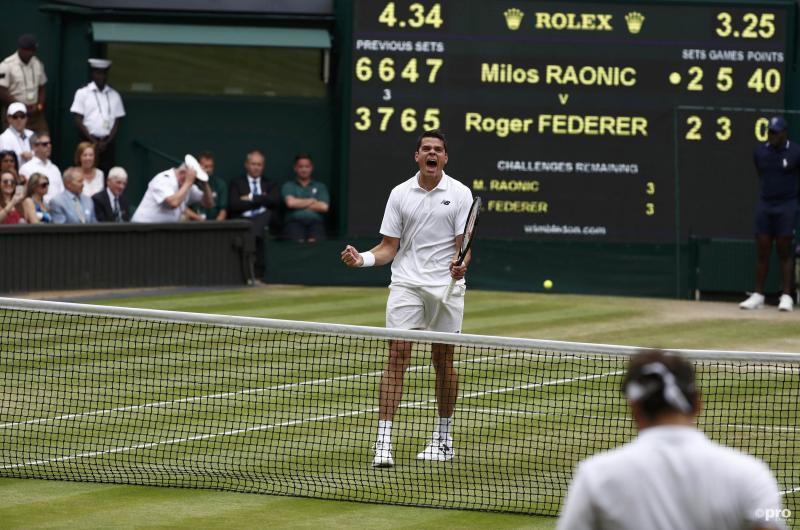 Milos Raonic boekt verrassende overwinning op Roger Federer (Pro Shots/Action Images)