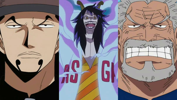 One Piece Burning Blood DLC personages