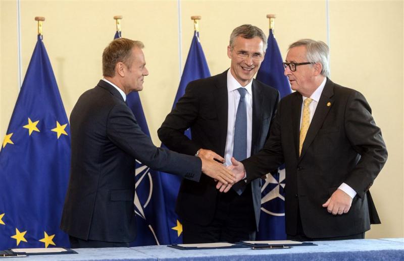 EU en NAVO samen tegen cyberaanvallen