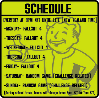 Fallout 4 - gaming schema