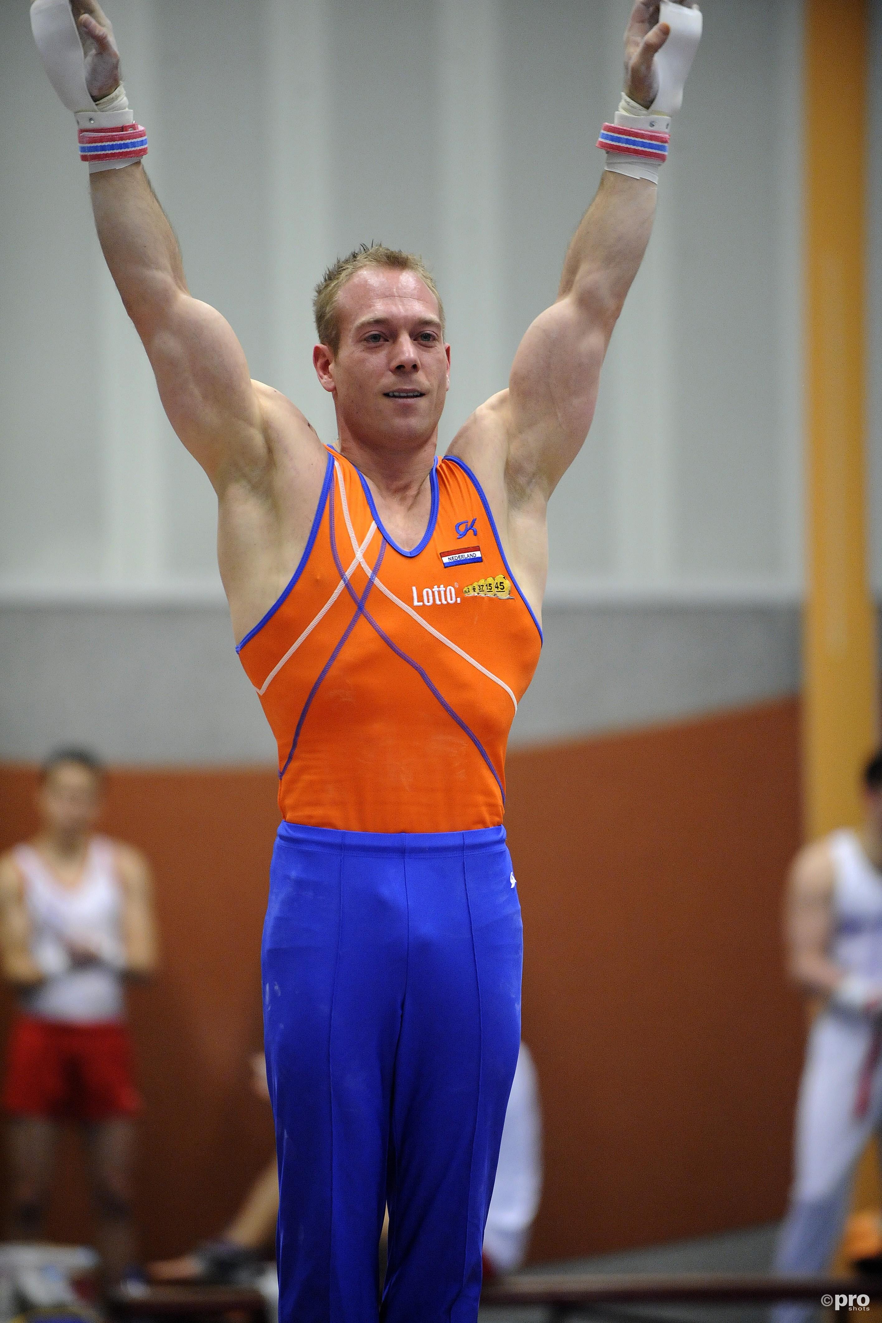 Yuri van Gelder mag eindelijk naar de Olympische Spelen. (PRO SHOTS/Jan Kanning)