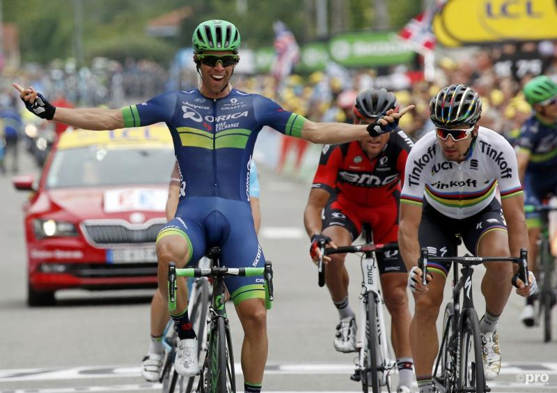 Matthews verrast Sagan in Tour (Pro Shots / Action Images)