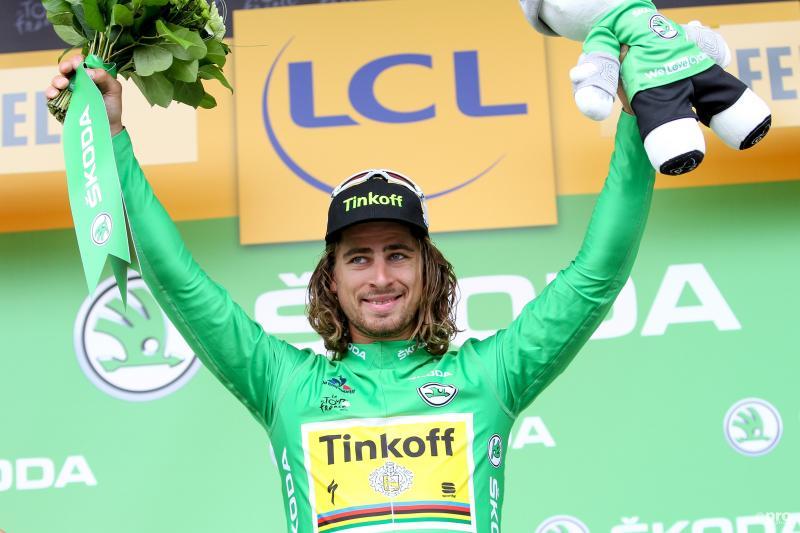 Sagan pakt zijn tweede etappezege. (PROSHOTS/George Deswijzen)