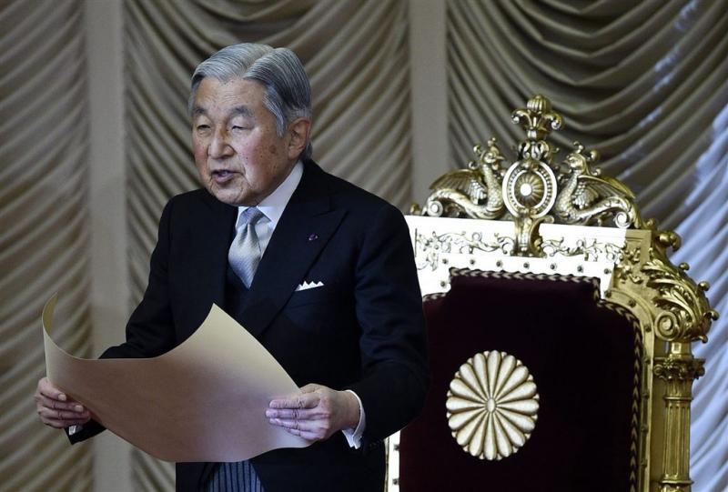 Japanse keizer wil stoppen