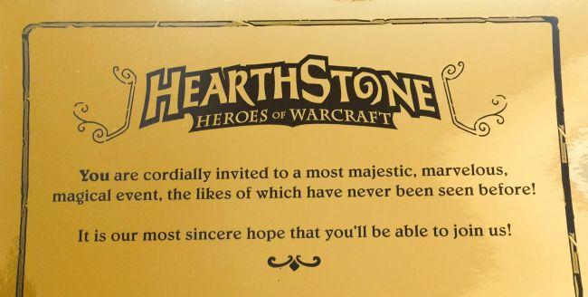 Uitnodiginghearthstone