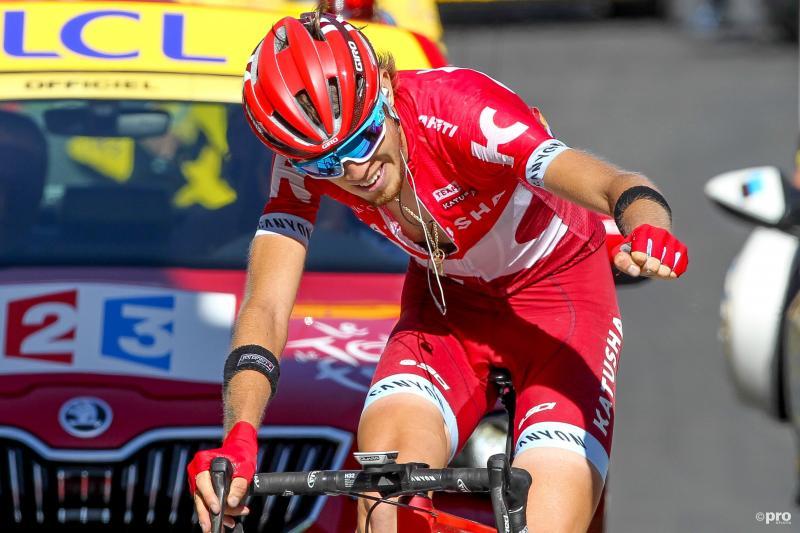 Zakarin, winnaar van de etappe (Pro Shots / George Deswijzen)