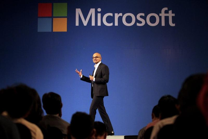 Microsoft profiteert van clouddiensten