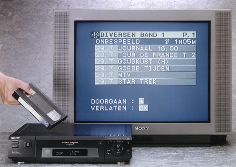 Doek valt definitief voor videorecorder