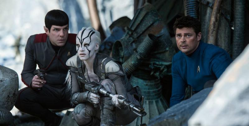 Star Trek Beyond Spock en Bones