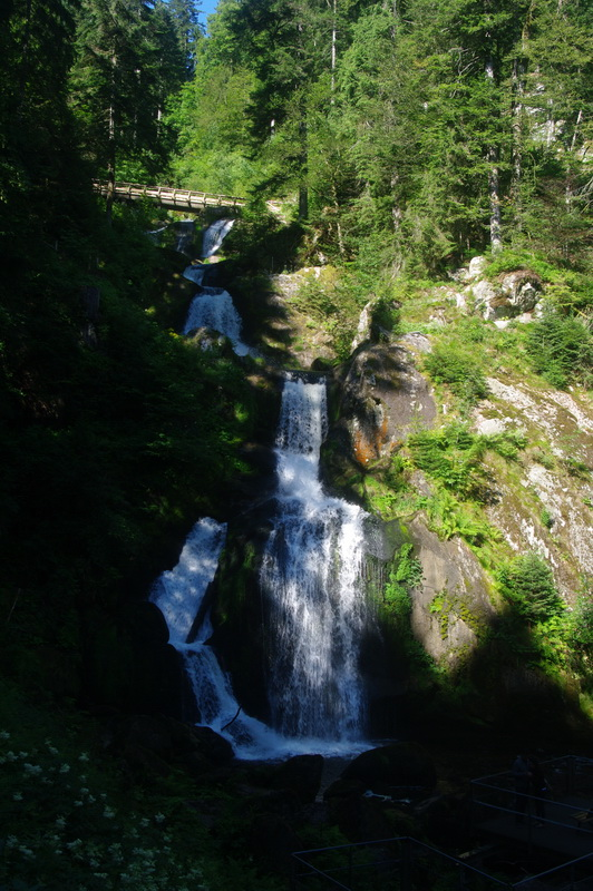 De grootste waterval van Duitsland