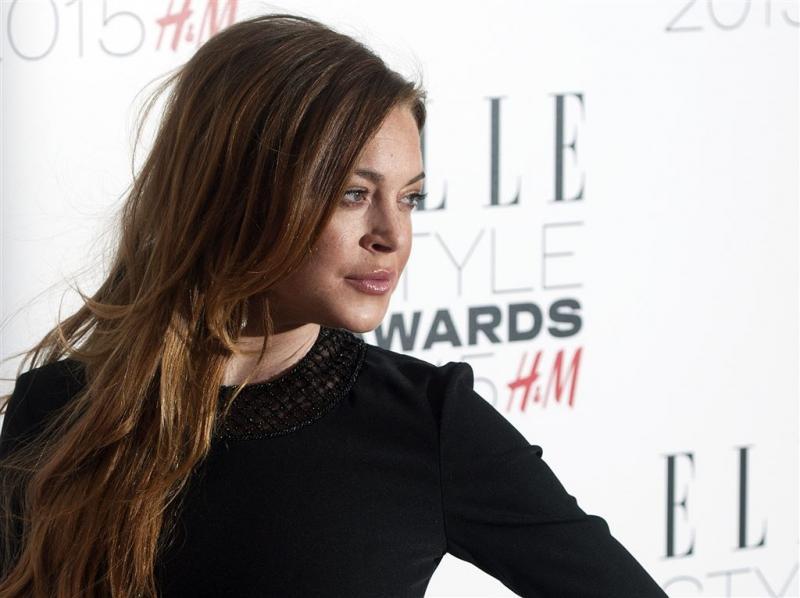 'Lindsay Lohan vlucht uit Londen'
