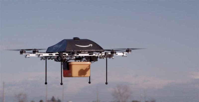 Amazon gaat bezorgdrones in Engeland testen