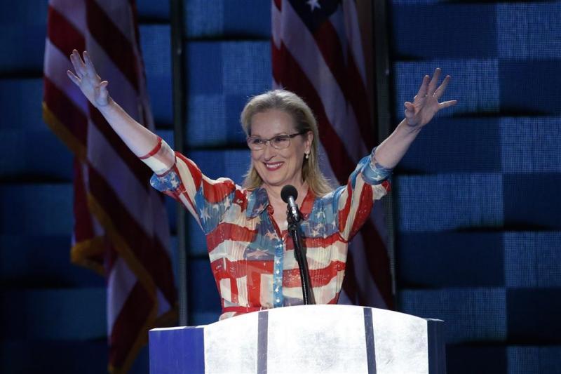 Sterren spreken op conventie Hillary Clinton