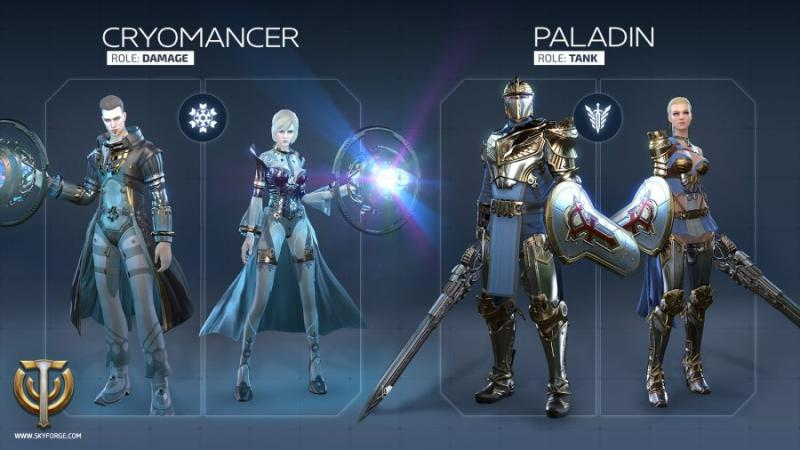 Skyforge - classes
