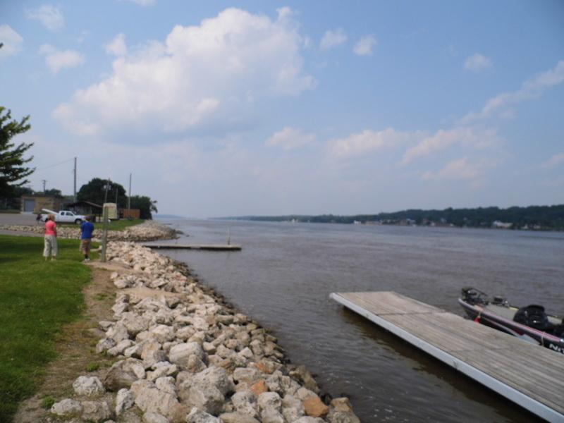 qltel en Rewimo aan de Mississippi