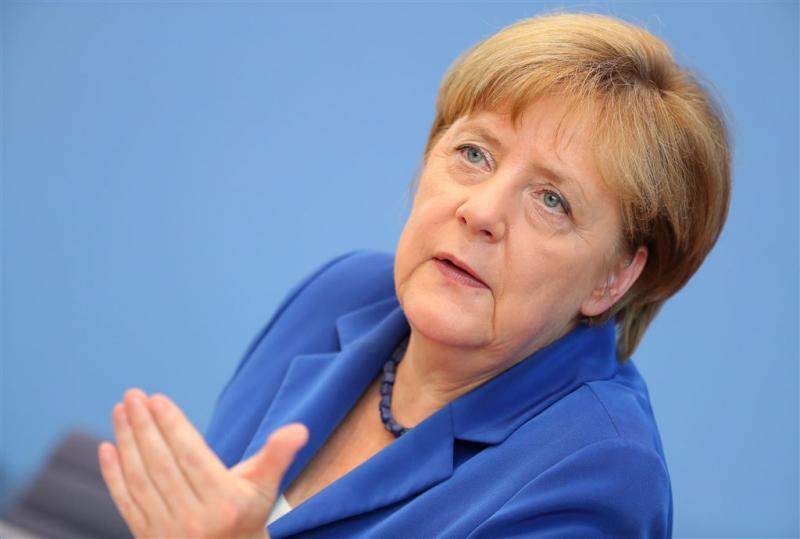 Merkel herhaalt: 'Wir schaffen das'