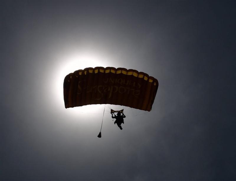 Nederlandse parachutist zwaargewond in België