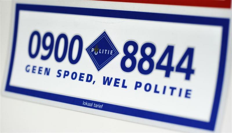 Storing politienummer in Oost-Nederland