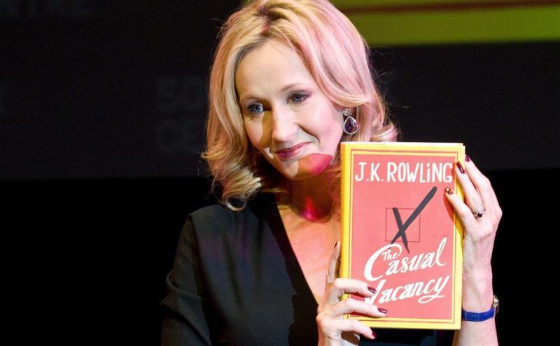 JK Rowling niet heel erg blij met cadeau