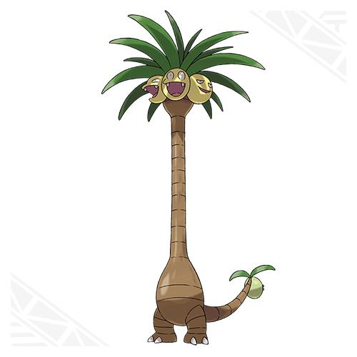 Pokémon Alolan Exeggutor