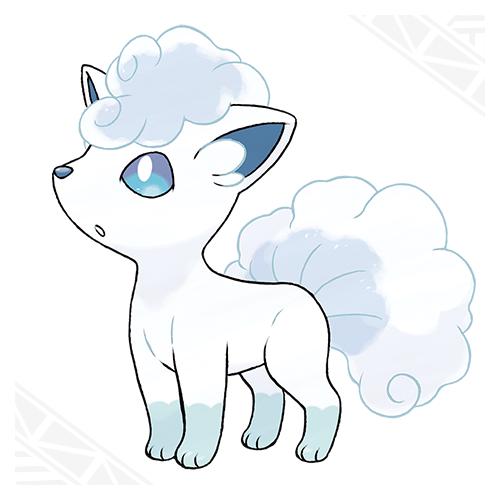 Pokémon Alolan Vulpix