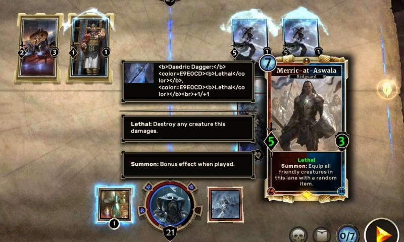 The Elder Scrolls: Legends - Beta heeft uiteraard foutjes