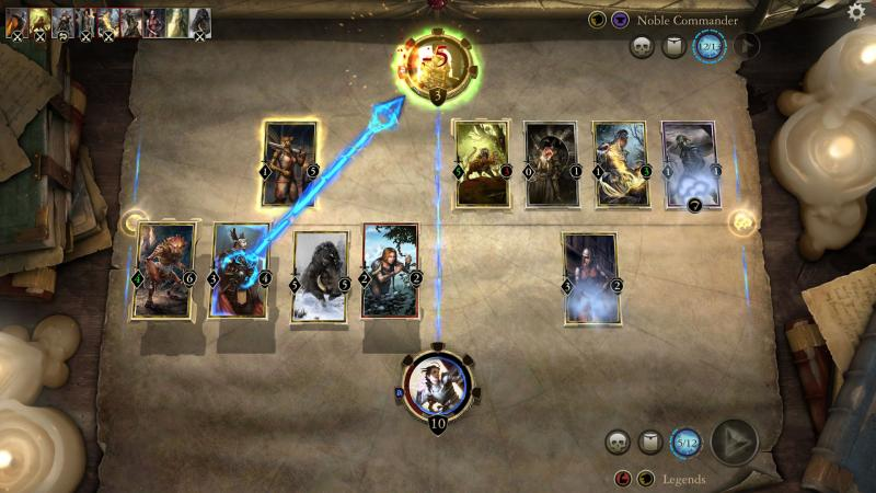 The Elder Scrolls: Legends - Recht op het doel af