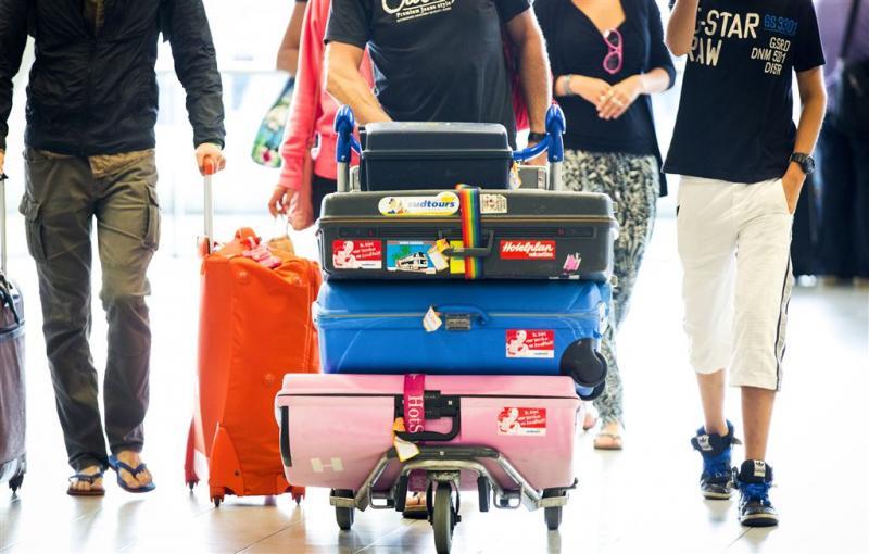 9000 koffers blijven achter op Schiphol