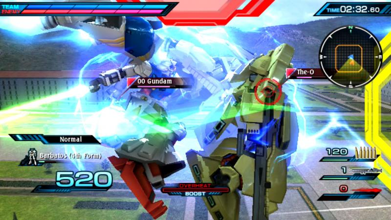 Mobile Suit Gundam Extreme vs Force - action (Foto: Bandai Namco)