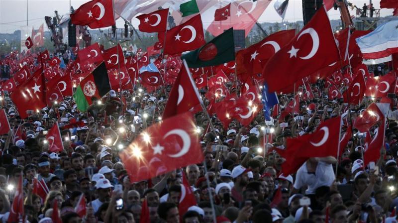 Buitenlanders vast wegens Turkse couppoging