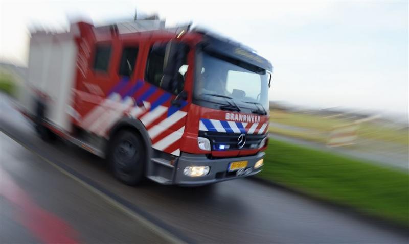 Grote duinbrand bij Schoorl