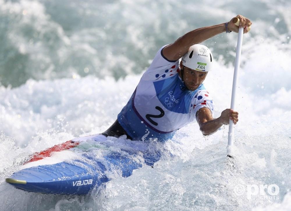 Gargaud Chanut in de halve finales op de baan in Rio (PROSHOTS/Action Images)