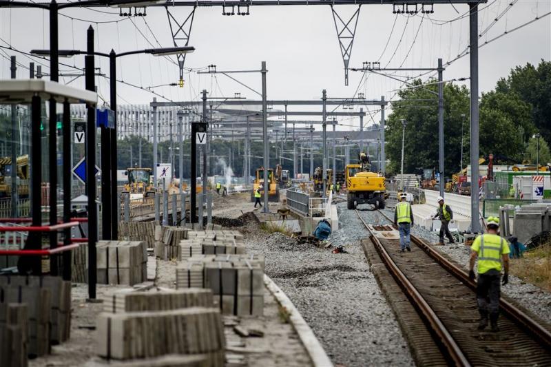 Spoor bij Schiphol succesvol verdubbeld