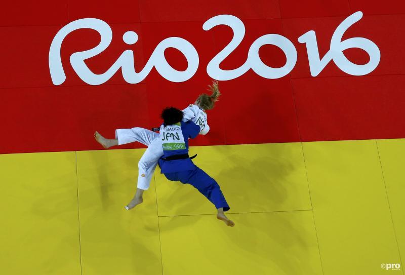 Judoka Polling uitgeschakeld (Pro Shots / Action Images)