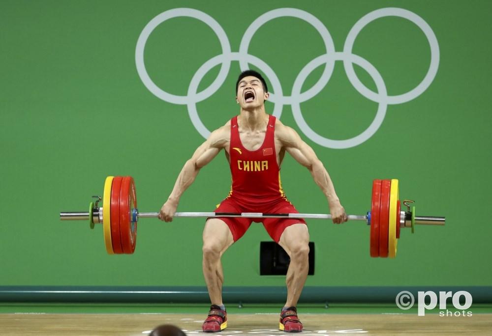 Shi Zhiyong op weg naar olympisch goud (PROSHOTS/Action Images)