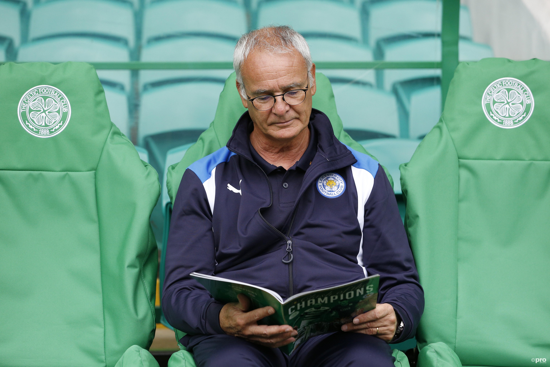 Claudio Rainieri nog vier seizoenen onder contract bij Leicester City. (PRO SHOTS/Action Images)